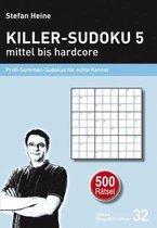Killer-Sudoku 5 - mittel bis hardcore