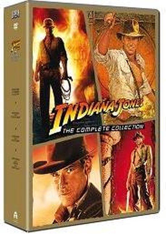 Cover van de film 'Indiana Jones - Complete Collection'