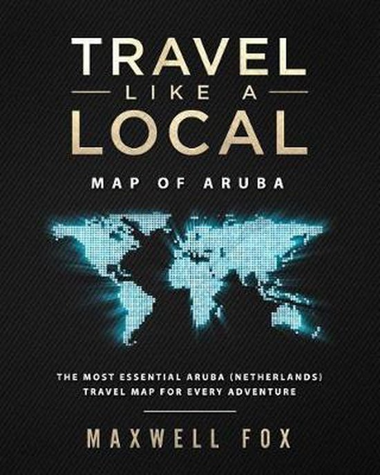 Travel Like a Local - Map of Aruba