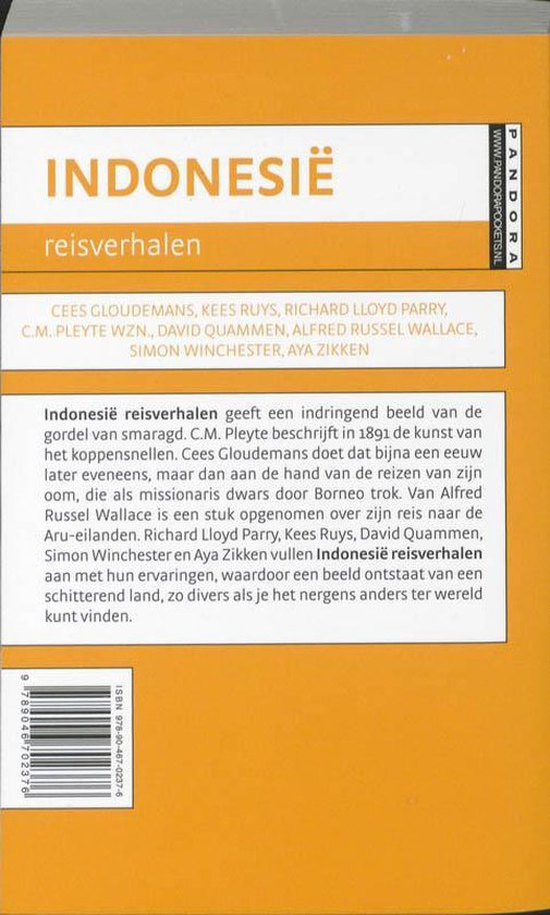 Indonesie Reisverhalen - Diversen |