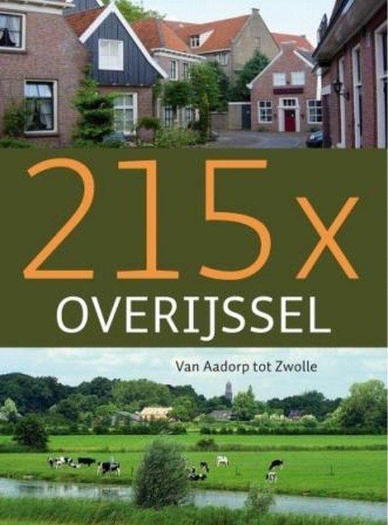 218 x Overijssel - Onbekend |