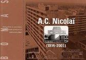 Boek cover A.C. Nicolai (1914-2001) van Albert Gielen