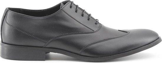 Made in Italy - Heren Nette schoenen Isaie Nero - Zwart - Maat 42