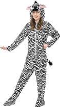 Zebra kostuum voor kinderen maat 146-158 - Carnavalskleding onesie