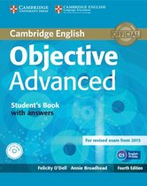 Boek cover Objective Adv - fourth edition for revised exam 2015 student van Felicity ODell (Hardcover)