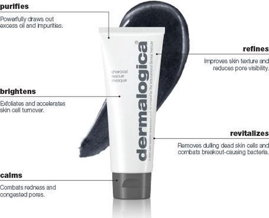 Dermalogica Charcoal Rescue Masque Gezichtsmasker - 75 ml