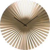 Wall clock Sensu XL steel gold