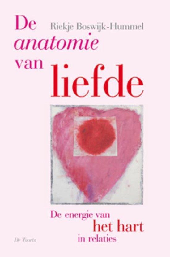 Boek cover De anatomie van liefde van R. Boswijk-Hummel (Paperback)
