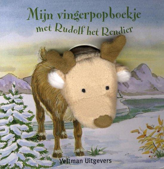 Mijn vingerpopboekje met Rudolf het rendier - Andrea Gerlich  