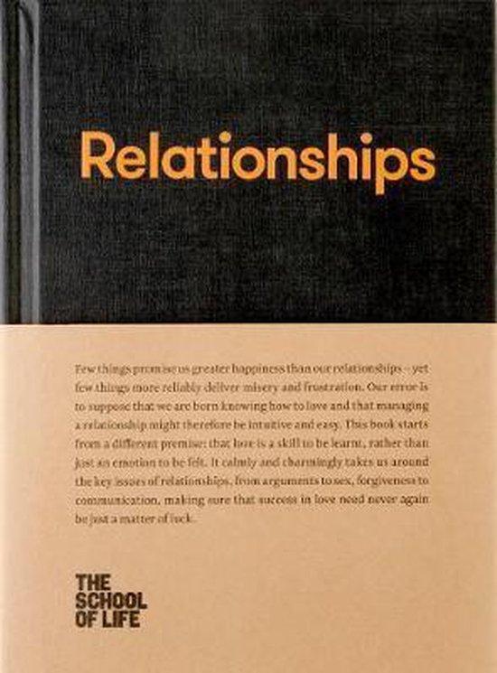 Boek cover Relationships van The School of Life (Hardcover)