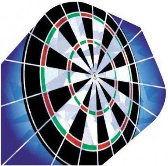 Afbeelding van het spel Harrows Flight 1603 hologram dartbord 3 stuks