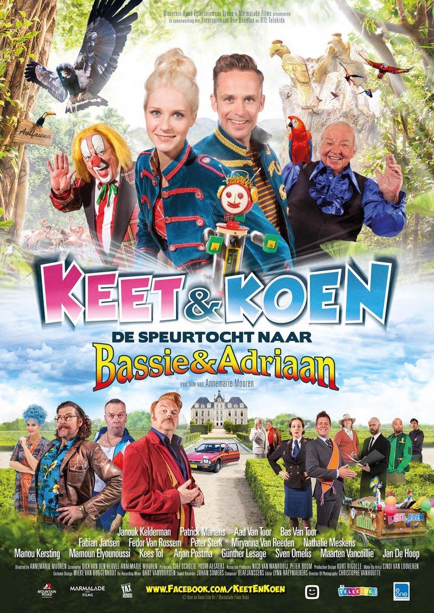 Keet en Koen: De speurtocht naar Bassie en Adriaan - Movie