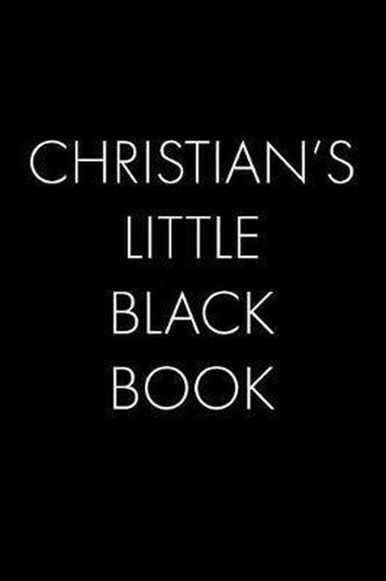 Christian's Little Black Book