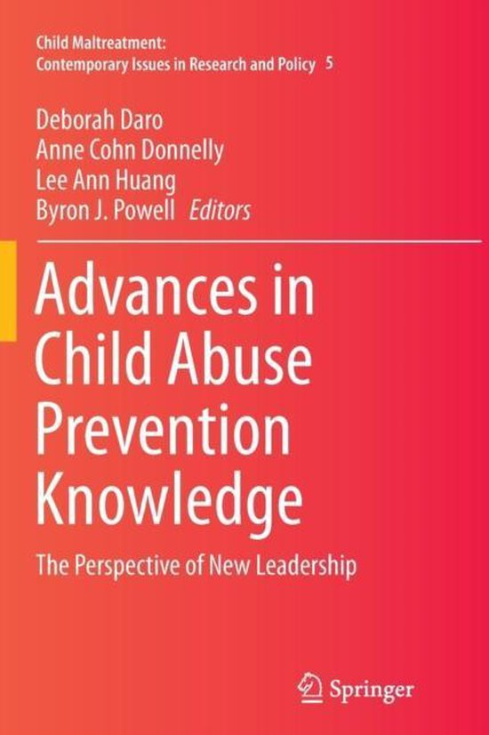 Omslag van Advances in Child Abuse Prevention Knowledge