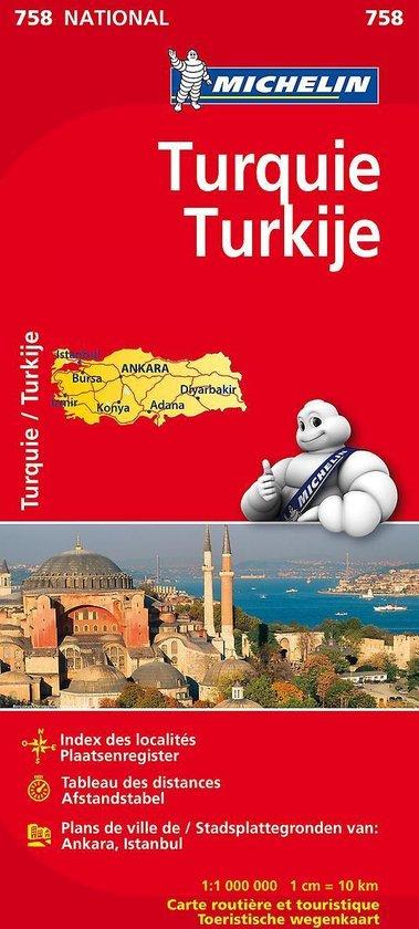 Michelin 758 Turkije - Onbekend  