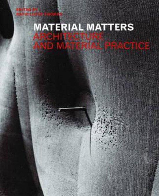 Boek cover Material Matters van K. Lloyd-Thomas (Paperback)