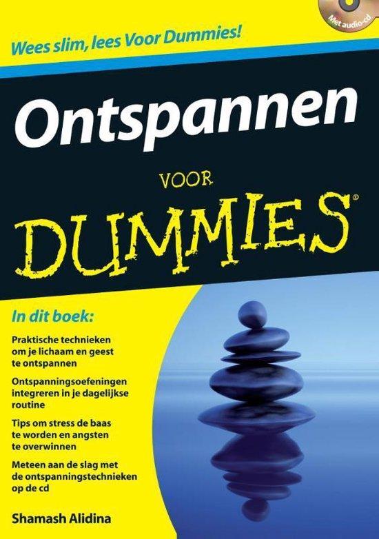 Voor Dummies - Ontspannen voor dummies - Shamash Alidina |