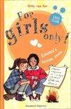 For Girls Only! - Emma's eerste zoen