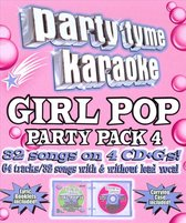 Party Tyme Karaoke: Girl Pop Party Pack, Vol. 4