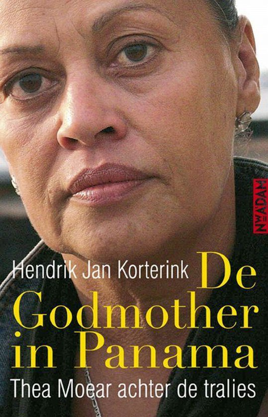 Boek cover De godmother in Panama van Hendrik Jan Korterink (Paperback)
