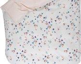 Esprit dekbedovertrek Spring Butterflies multi - extra kussensloop (60x70 cm)
