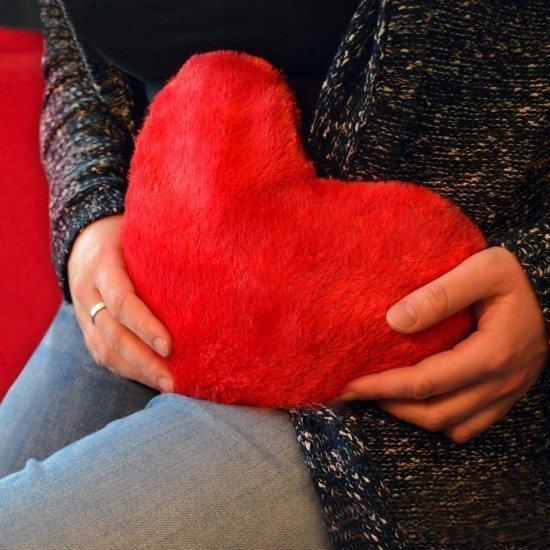Warming Heart Pillow - Magnetron Kussen