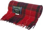 Highland Tartan Tweeds of Scotland Fraser Red