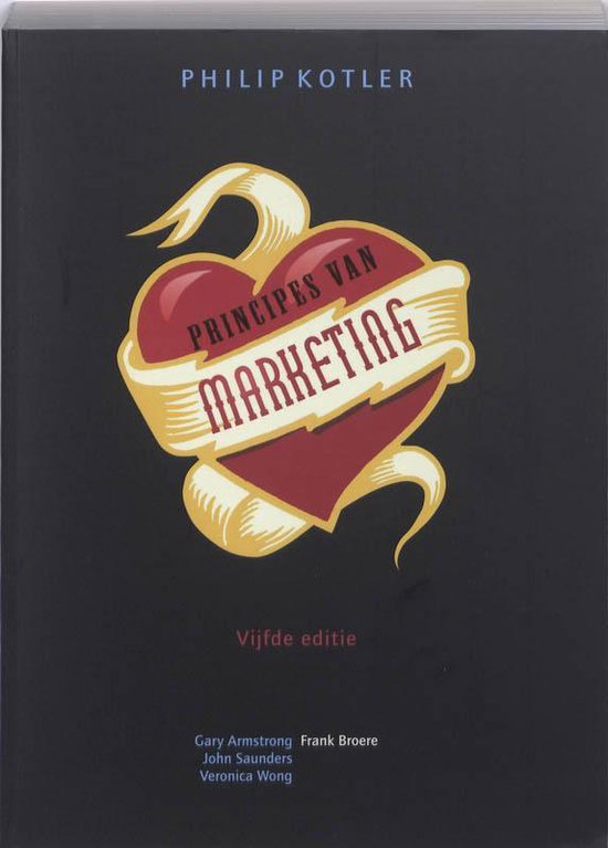 Principes van marketing, 5e editie - KOTLER |