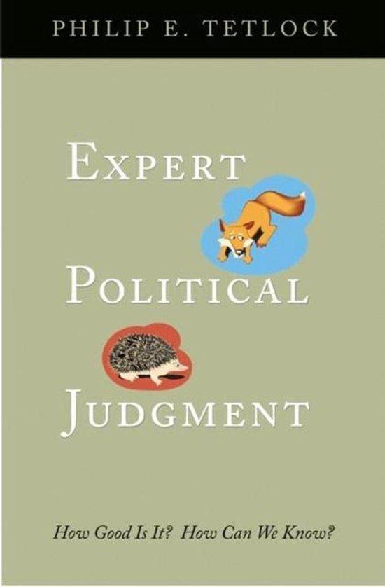 Boek cover Expert Political Judgment van Philip E. Tetlock (Paperback)