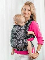 Isara  Draagzak Kaleidoscopix denim black Baby