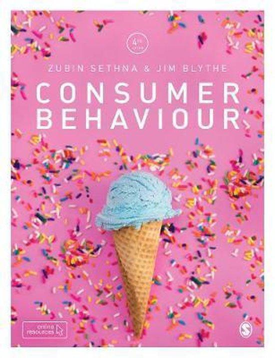 Boek cover Consumer Behaviour van Zubin Sethna (Paperback)