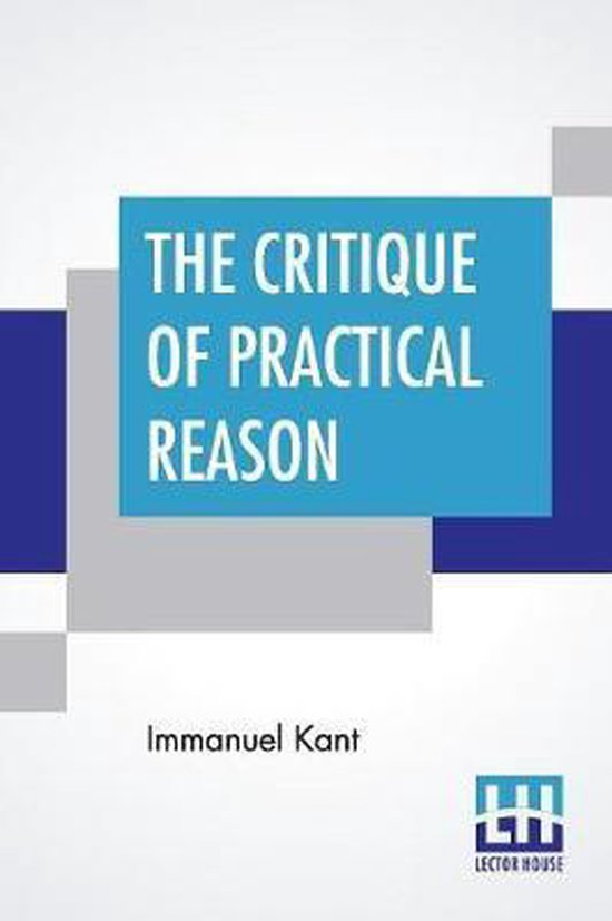 Boek cover The Critique Of Practical Reason van Immanual Kant (Paperback)