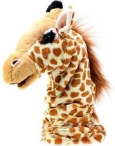 Toi-toys Giraffe Handpop 43 Cm Geel/bruin