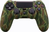 PS4 Controller Silicone Hoes Playstation 4 - Camouflage groen