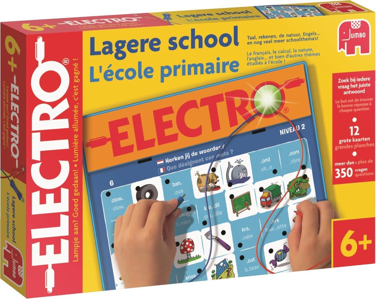 Electro Lagere School België - Educatief Spel