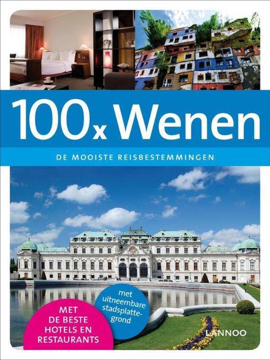 Cover van het boek '100 x Wenen' van Evelyn Laureyns