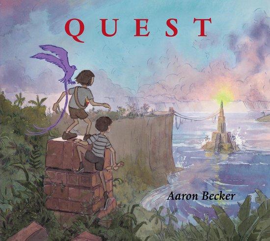 Boek cover Quest van Aaron Becker (Hardcover)