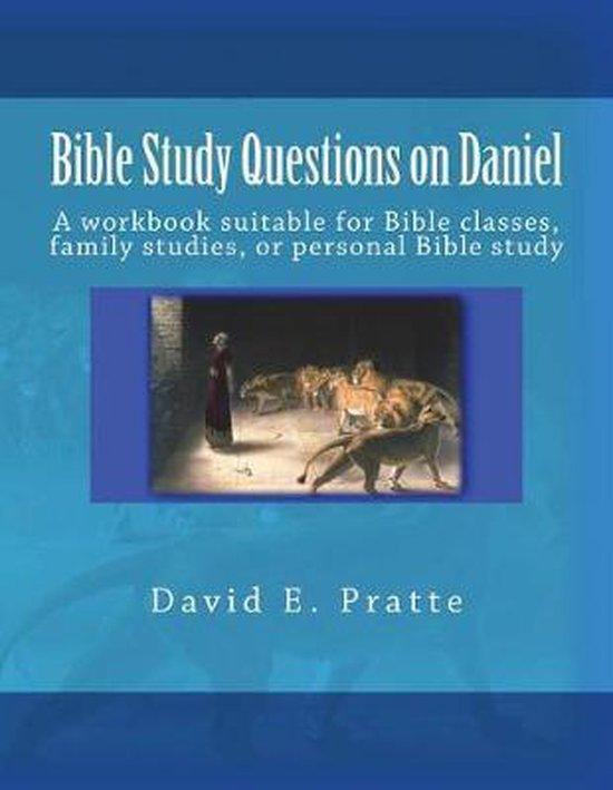 Boek cover Bible Study Questions on Daniel van David E Pratte (Paperback)