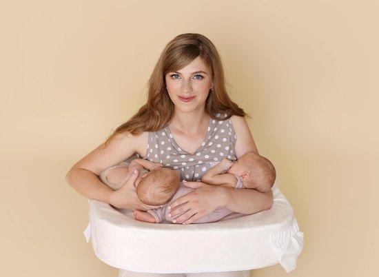 Feeding Pillow Twin Voedingskussen voor Tweelingen - Wit