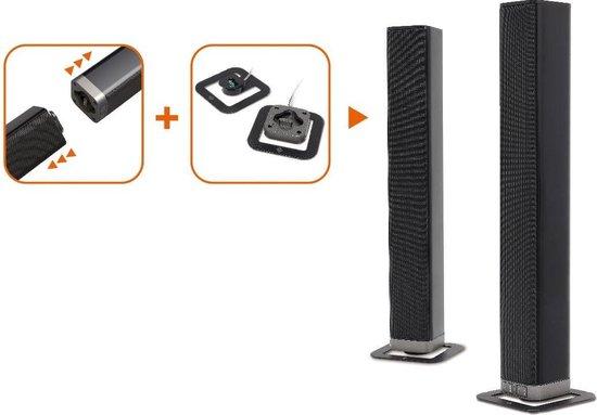 Dutch Originals Soundbar - Los te koppelen naar 2 torenspeakers - Draadloos - 2 x Soundbar