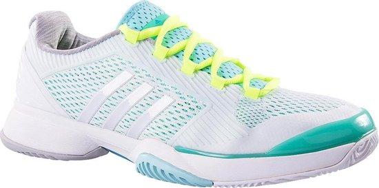 bol.com | Adidas Tennisschoenen Barricade Dames Wit Maat 37 1/3