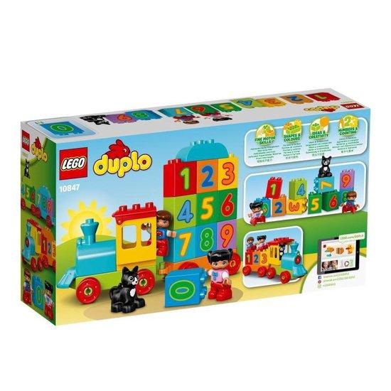 LEGO DUPLO Getallentrein - 10847