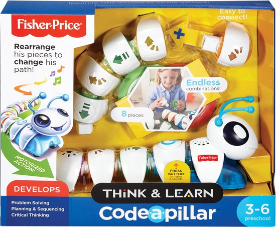 Fisher-Price Co-de-Rups - Leer, ontdek en codeer