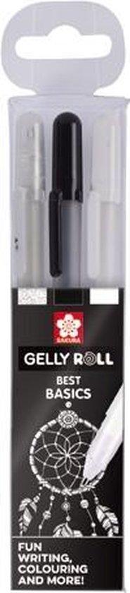 Afbeelding van Sakura Gelly Roll 3 gelpennen Best Basics