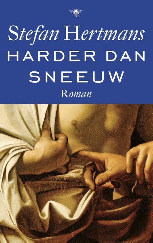 Boek cover Harder dan sneeuw van Stefan Hertmans (Onbekend)