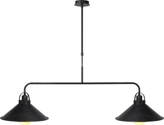 Lucide BERKLEY Hanglamp - E27 - Roest bruin