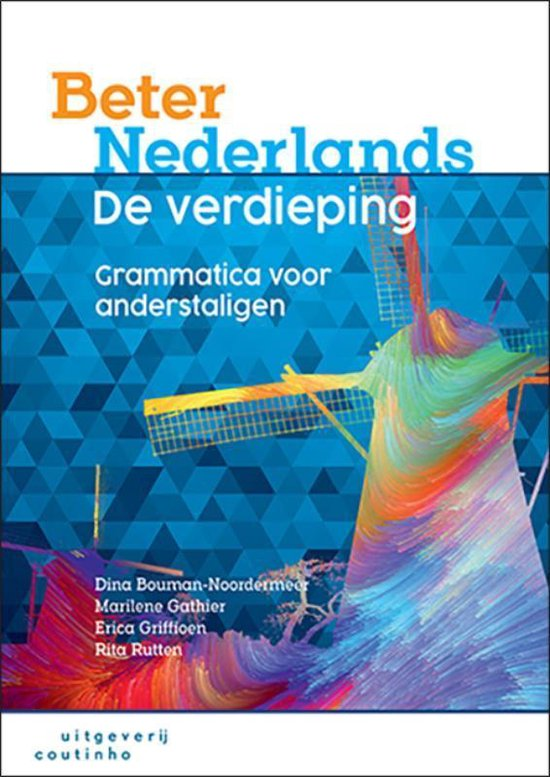Boek cover Beter Nederlands - De verdieping van Dina Bouman-Noordermeer (Paperback)