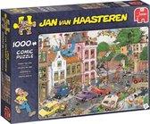 Afbeelding van Jan van Haasteren Vrijdag de 13e Puzzel 1000 Stukjes