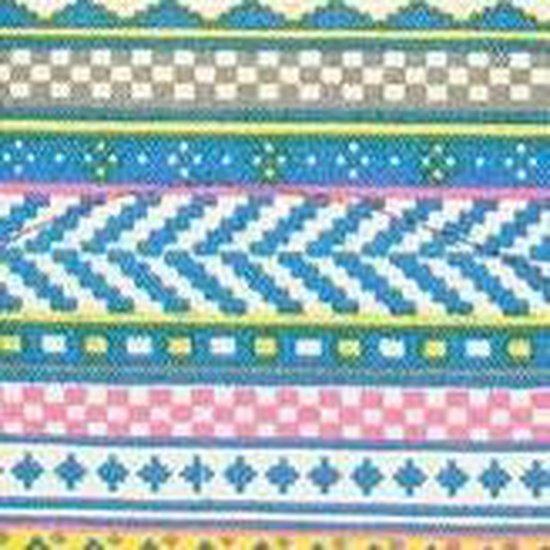 Beagles Kleine Canvas Rugzak Neon Aztec - Beagles