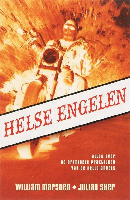 Cover van het boek 'Helse engelen'